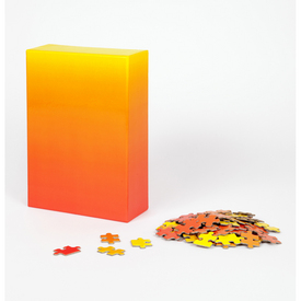Gradient Puzzle - Large RED_YELLOW