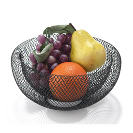 Mesh Double Wall Bowl - Black