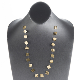 Gold Squares Necklace GOLD