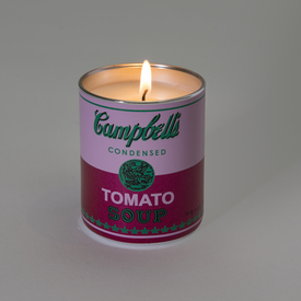 Andy Warhol Soup Can Candle