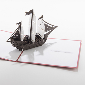 Friend-Ship Pop-Up Card