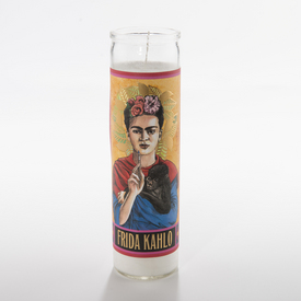 Frida Kahlo Secular Saint Candle KAHLO