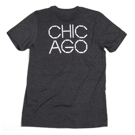 MCA Chicago T-Shirt - Charcoal Grey DKGRAY