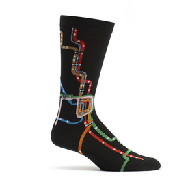 Chicago El Train Socks