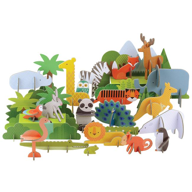 Animals Of The World Pop- Out Set