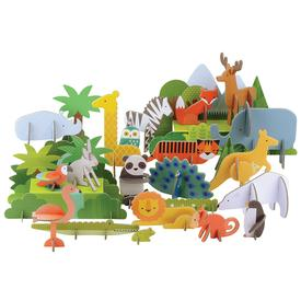 Animals of the World Pop-Out Set