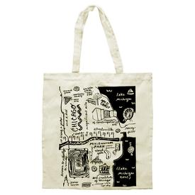 Map of Chicago Tote Bag