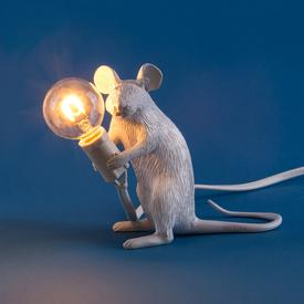Sitting Mouse Lamp