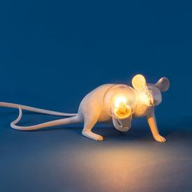 Crouching Mouse Lamp