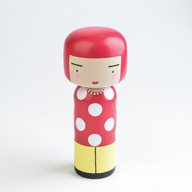 Dot Wooden Doll