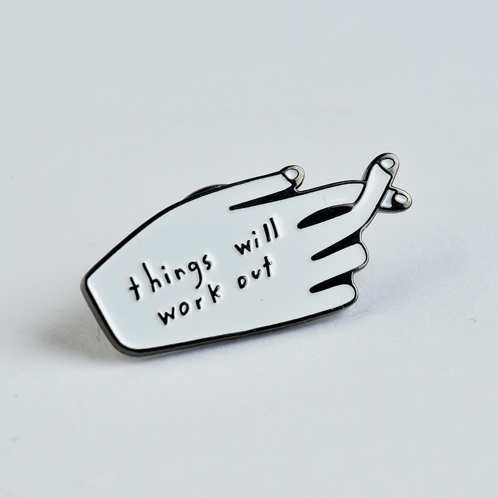 MCA Chicago Store | Things Will Work Out Pin