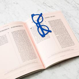 Sunglasses Bookmark - Blue