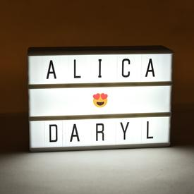 Mini Marquee Light Box MINI