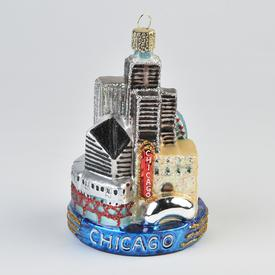 Chicago Skyline Ornament