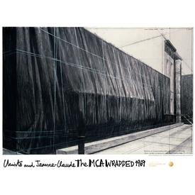 Christo: The MCA Wrapped 1969 Poster