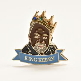 King Kerry Enamel Pin