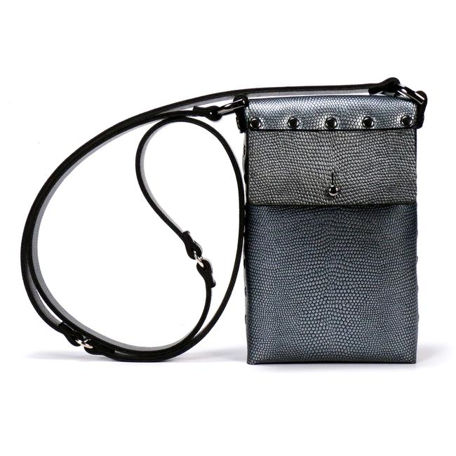 Silver Malachite Mobile Bag