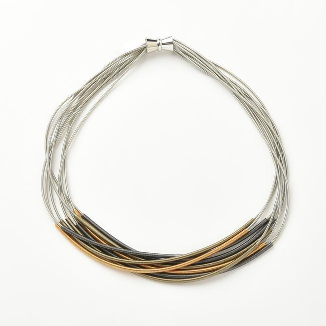 Multi- Tonal Sleeve Necklace