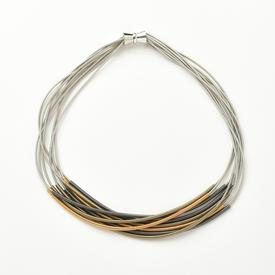 Multi-Tonal Sleeve Necklace
