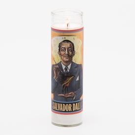 Salvador Dali Secular Saint Candle