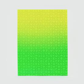Green Yellow Gradient Puzzle - Small GREENYELLOW