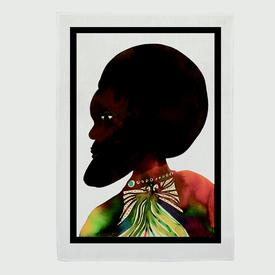 Chris Ofili Afromuses Tea Towel - Man