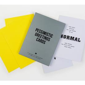 Pessimistic Greetings Cards Set
