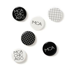 MCA Glow in the Dark Pins Set