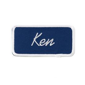 Ken Patch - Blue and White