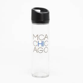 MCA Glass Water Bottle