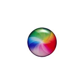 Spinning Beach Ball Pin