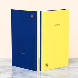 Double Sided Planner and Notebook