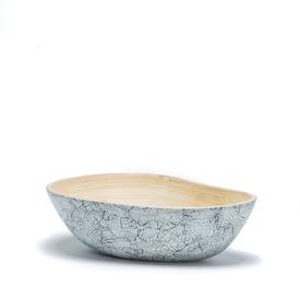 Bamboo and Eggshell Mango Bowl - Small