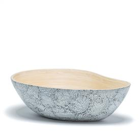 Bamboo and Eggshell Mango Bowl - Large