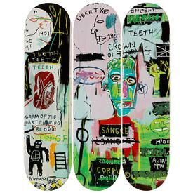 Basquiat In Italian Skate Decks