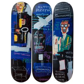 Basquiat Horn Players Skate Decks