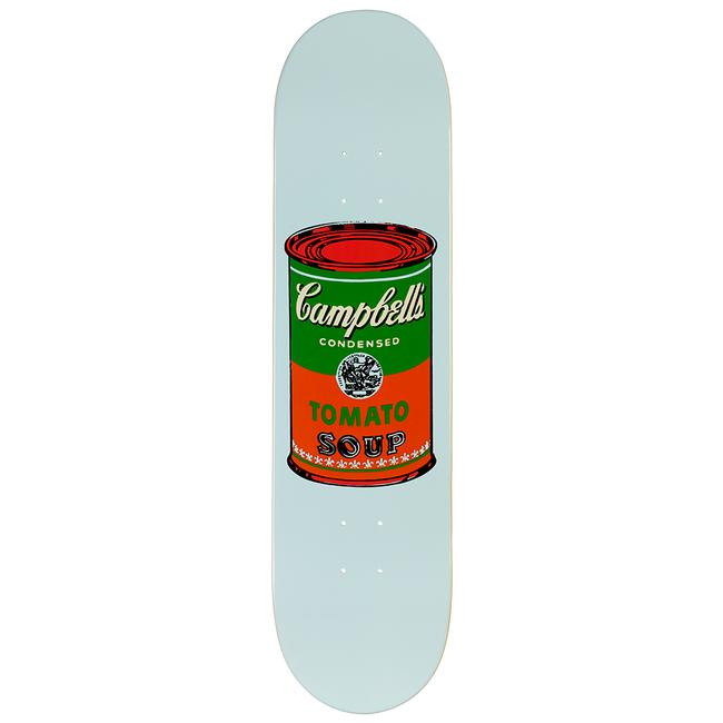 Warhol Campbell's Soup Can Skate Deck - Red