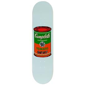 Warhol Campbell`s Soup Can Skate Deck - Red