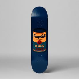 Warhol Campbell`s Soup Can Skate Deck - Teal TEAL