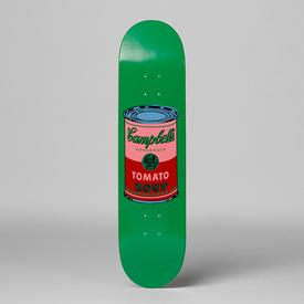 Warhol Campbell`s Soup Can Skate Deck - Blood BLOOD