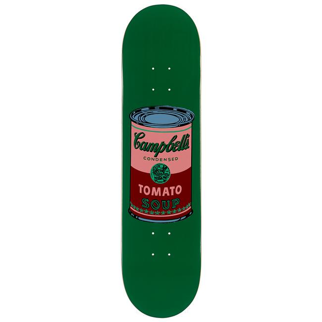 Warhol Campbell's Soup Can Skate Deck - Blood