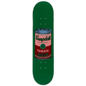 Warhol Campbell`s Soup Can Skate Deck - Blood