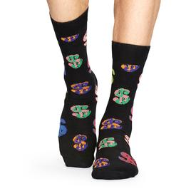 Andy Warhol Dollar Sign Socks - Black