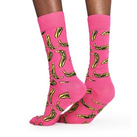 Andy Warhol Banana Socks - Pink