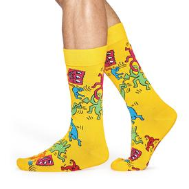 Keith Haring All Over Socks