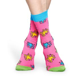 Keith Haring Dancing Socks