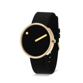 Picto Watch - Black and Gold BLKGOLD