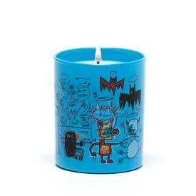Basquiat Blue Candle