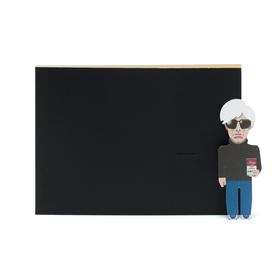 Andy Artist Notebook BLK_GLD