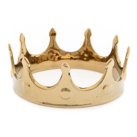 Gold Porcelain Crown